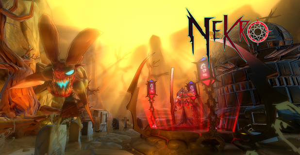 Nekro Screenshot - Nekro Title