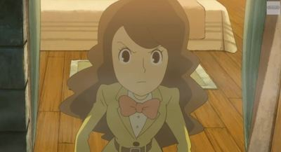 Professor Layton and the Azran Legacy Screenshot - Emmy Altava