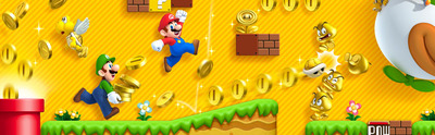New Super Mario Bros 2 Screenshot - New Super Mario Bros. 2