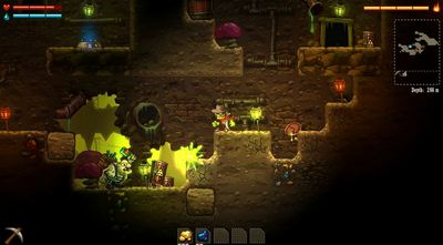 Screenshot - steamworld dig ps vita ps4