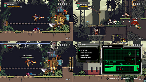 Mercenary Kings split screen