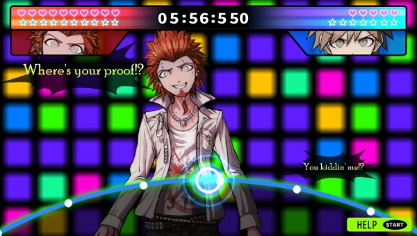 Danganronpa gameplay