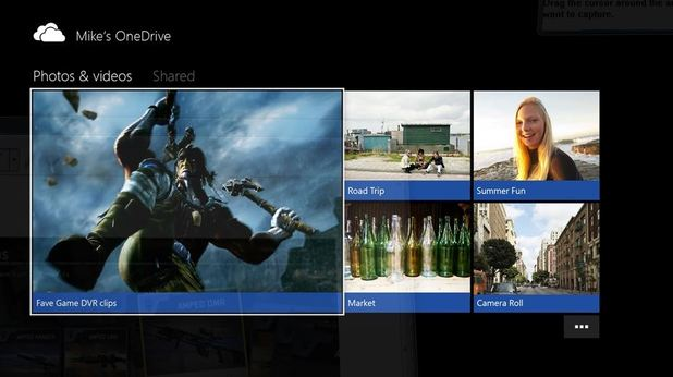 Xbox One (Console) Screenshot - Xbox One OneDrive