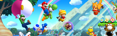 New Super Mario Bros. U Screenshot - New Super Mario Bros U