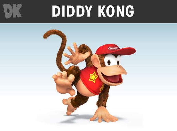 diddy kong super smash bros.
