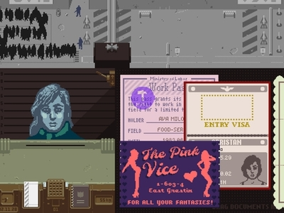 Papers, Please Screenshot - Papers, Please