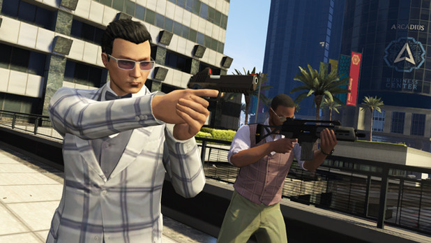 GTA Online The Business Update weapons