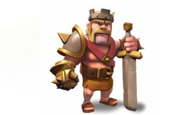 Clash of Clans Screenshot - Clash of Clans Barbarian King