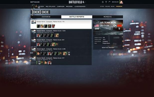 Battlefield 4 Screenshot - Battlefield 4 Platoons