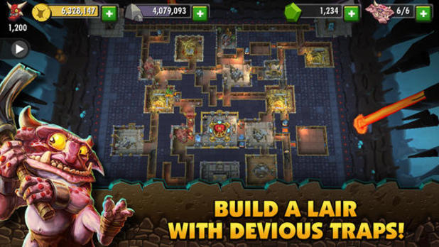 Dungeon Keeper (EA) Screenshot - Dungeon Keeper