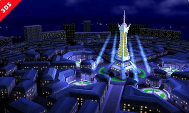 Super Smash Bros. for 3DS / Wii U Screenshot - Super Smash Bros Lumiose City