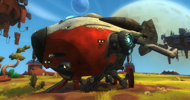 wildstar preorder rocket house