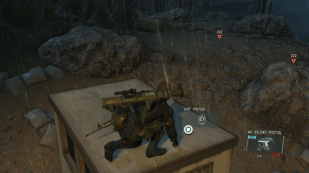 Metal Gear Solid V: Ground Zeroes XOF Patches Locations