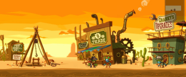 SteamWorld Dig - Feature