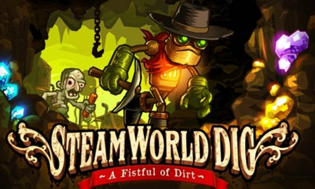 SteamWorld Dig Screenshot - SteamWorld Dig