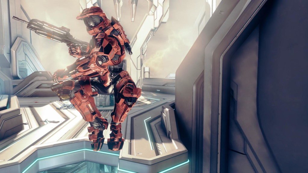Jumping in Halo 4