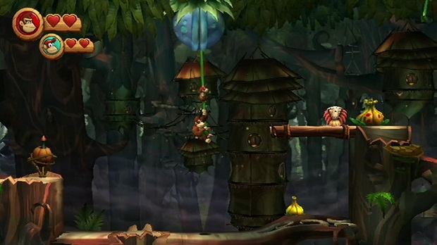 Donkey Kong Country Returns - Wii, 3DS - 2