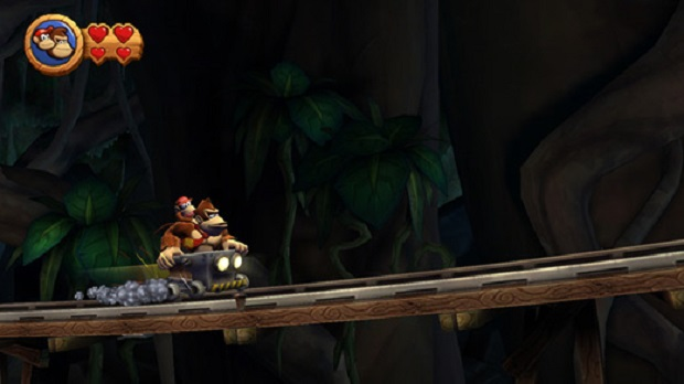 Donkey Kong Country Returns - Wii, 3DS - 3