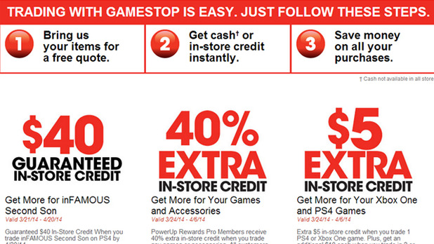 gamestop launches never walk a trade program. Black Bedroom Furniture Sets. Home Design Ideas