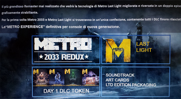 Deep Silver confirms Metro Redux, but won't share details just yet