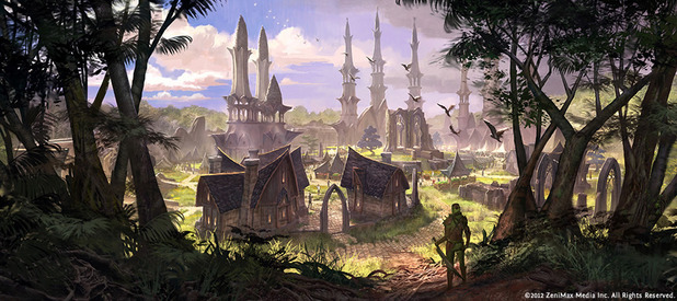 Elder Scrolls Online concludes North American maintenance, gets patched to version 1.0.1