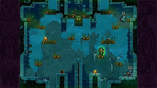 TowerFall: Ascension Screenshot - Cave battle