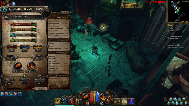 Screenshot - The Incredible Adventures of Van Helsing II delayed until May 22nd