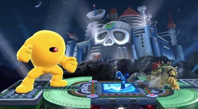 Super Smash Bros. for 3DS / Wii U Screenshot - Yellow Devil Mega Man
