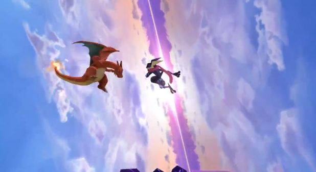 Super Smash Bros. for 3DS / Wii U Screenshot - Charizard vs Greninja