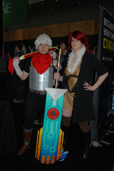 Bastion and Transistor cosplay