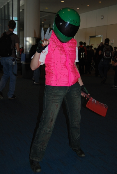 Hotline Miami Helmet cosplay