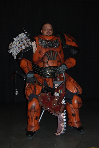 Space Marine cosplay