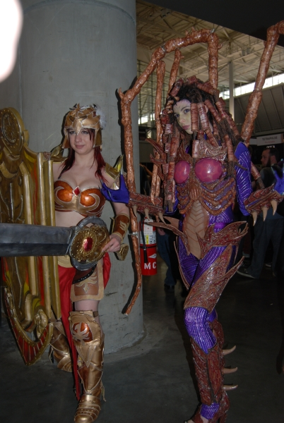 Kerrigan cosplay