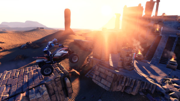 Trials Fusion Screenshot - Riding an ATV