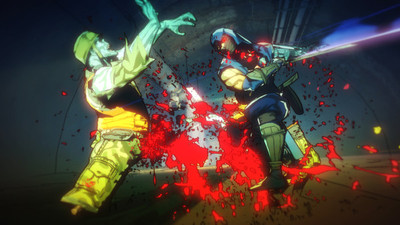 Yaiba: Ninja Gaiden Z Screenshot - Slashing bad guys