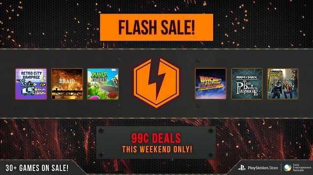 Flash Games For Ps3 : Ps store flash sale tons of and vita games for just