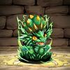 Puzzle & Dragons Screenshot - emerald dragon