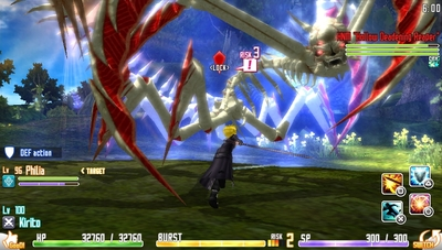 Sword Art Online: Hollow Fragment Screenshot - Boss Battle