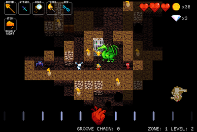 Screenshot - Dance the night away with Crypt of the Necrodancer