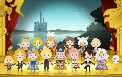 Theatrhythm Final Fantasy Screenshot - Theatrhythm Curtain Call