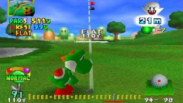 Image result for mario golf  n64