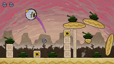King Oddball Screenshot - Gameplay