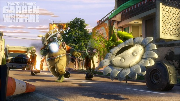 Plants vs. Zombies: Garden Warfare Screenshot - Plants vs. Zombies: Garden Warfare sprouts a PC release on June 27th