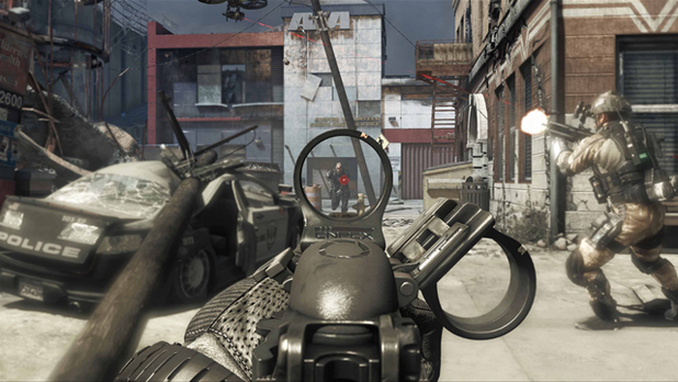Call of Duty: Ghosts is a part of the ESPN X Games this year. Seriously
