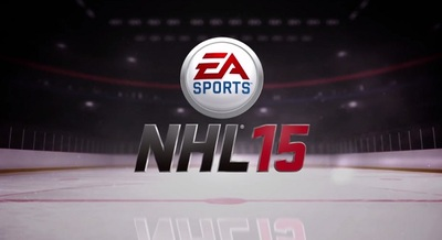 NHL 15 Screenshot - NHL 15 logo