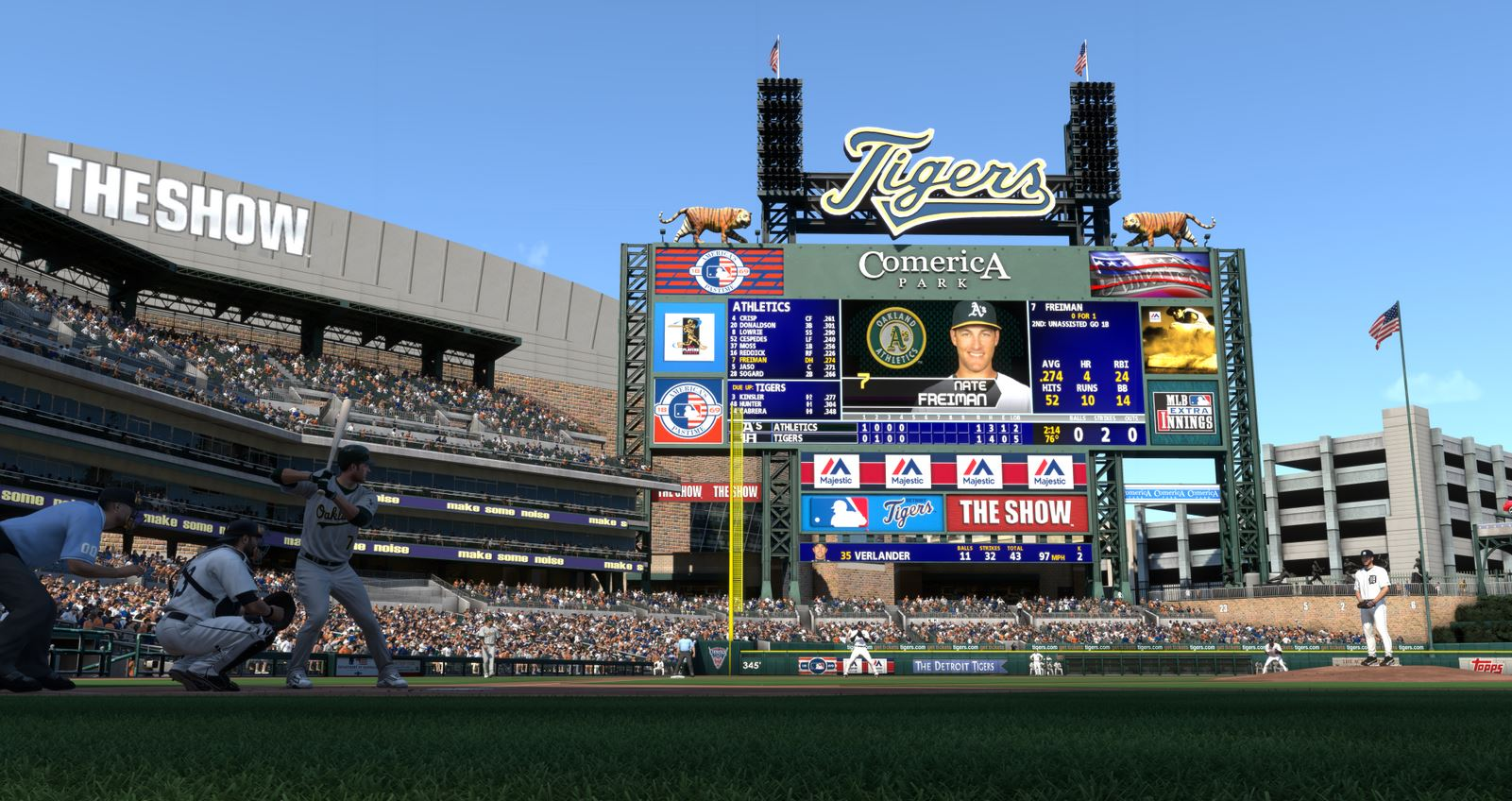 MLB 14 The Show stadium