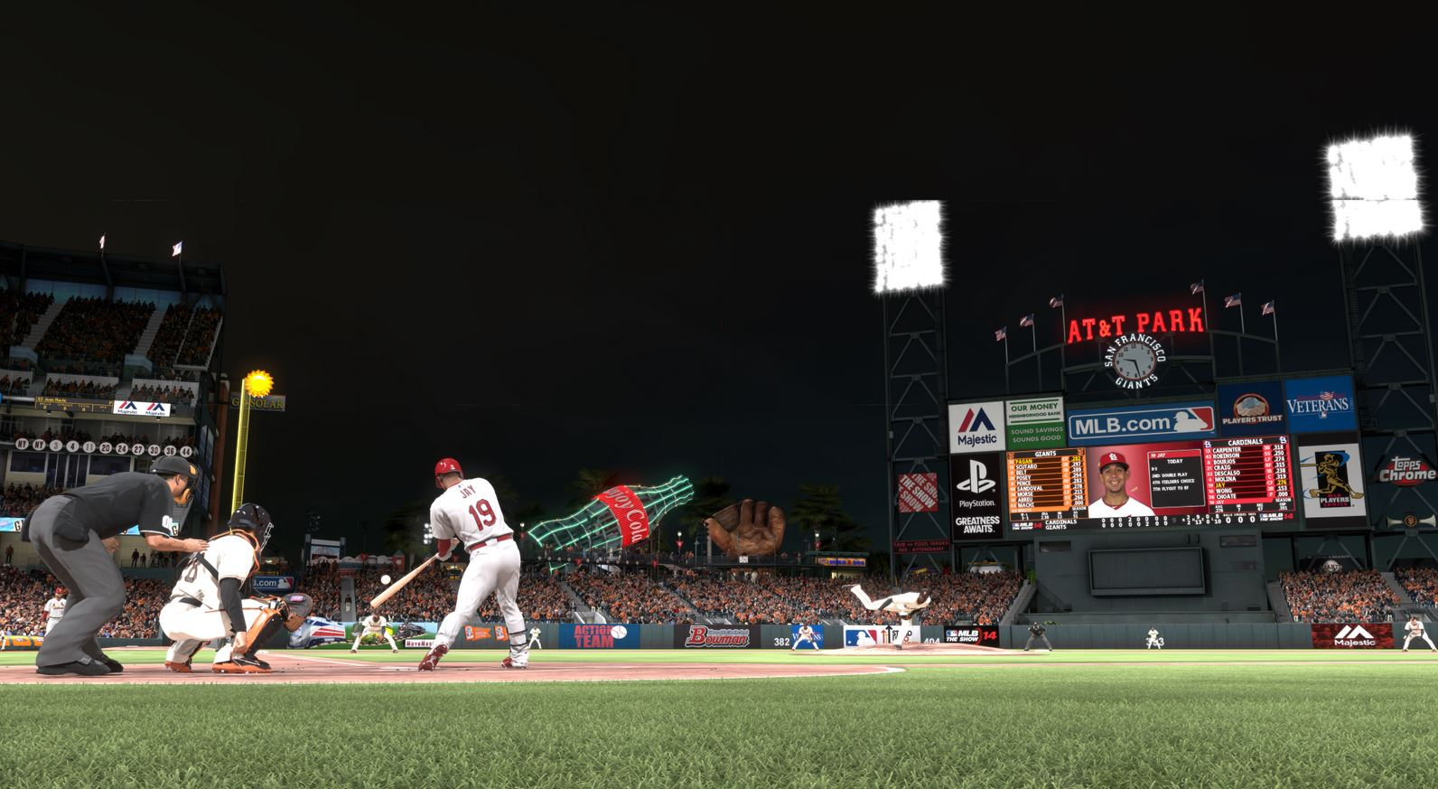 MLB 14 The Show night
