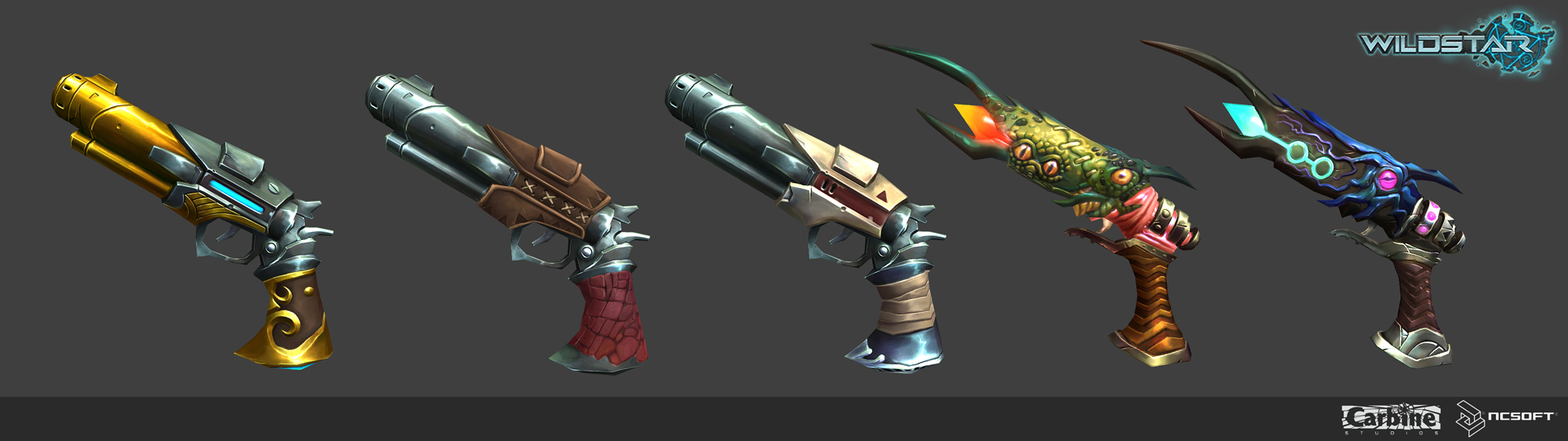 wildstar spellslinger weapons