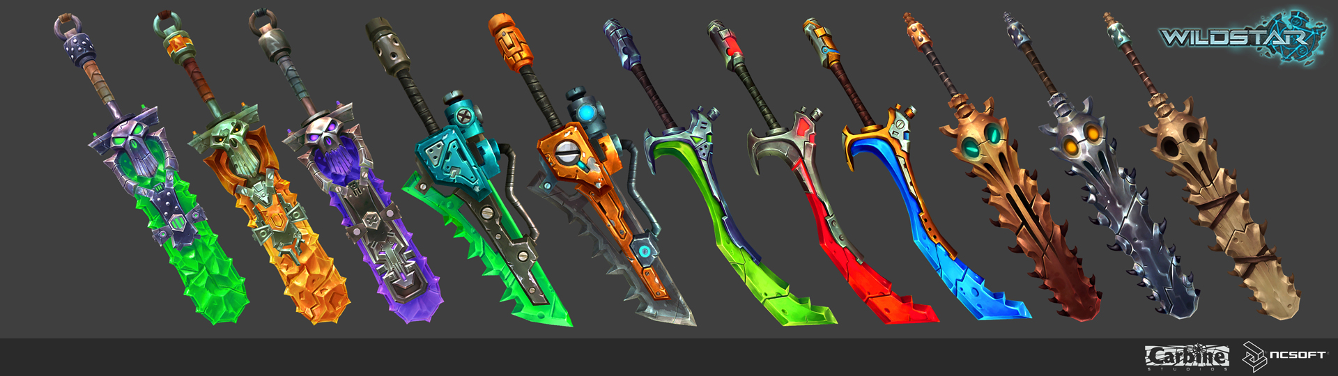 wildstar warrior weapons