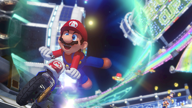 Mario Kart 8 Screenshot - Mario Kart 8 is currently a top selling game at both Amazon and GameStop